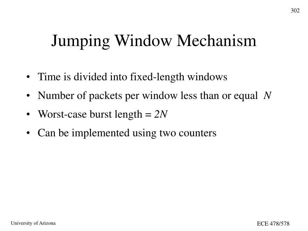 Jumping Window Mechanism