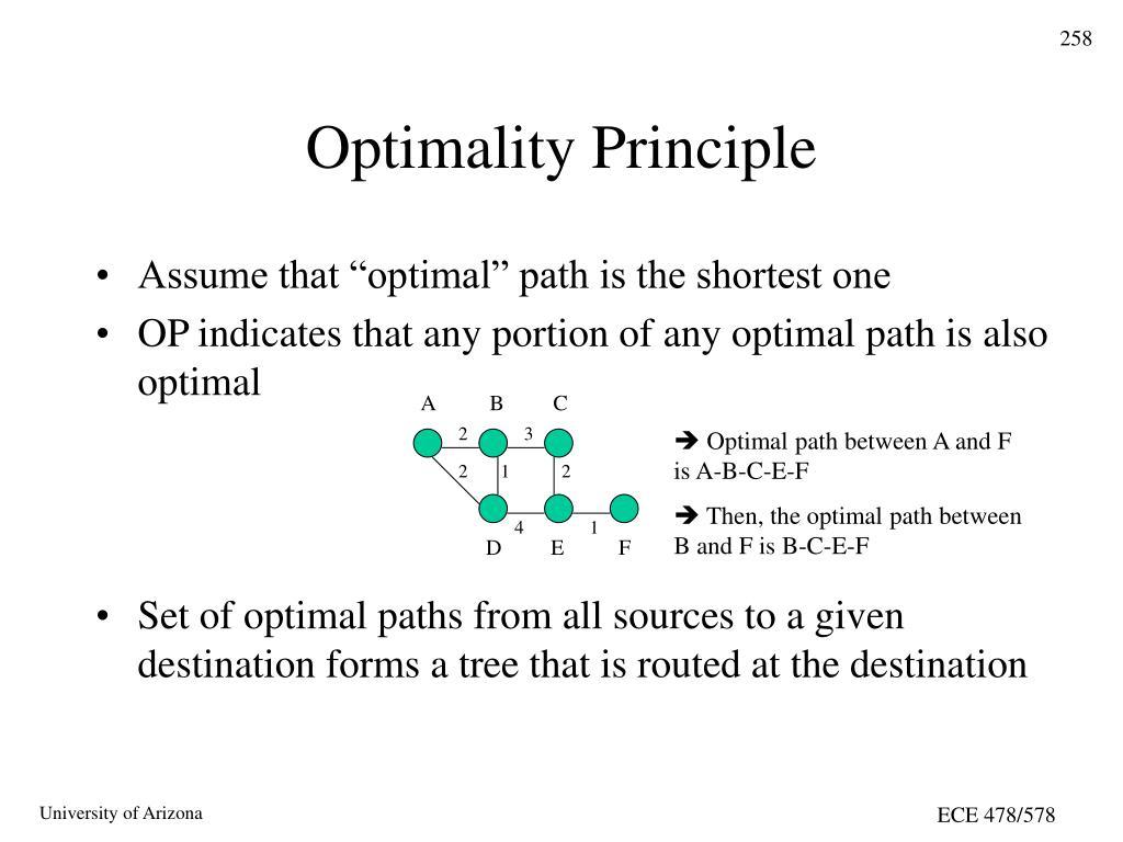 Optimality Principle