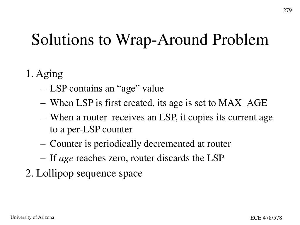 Solutions to Wrap-Around Problem