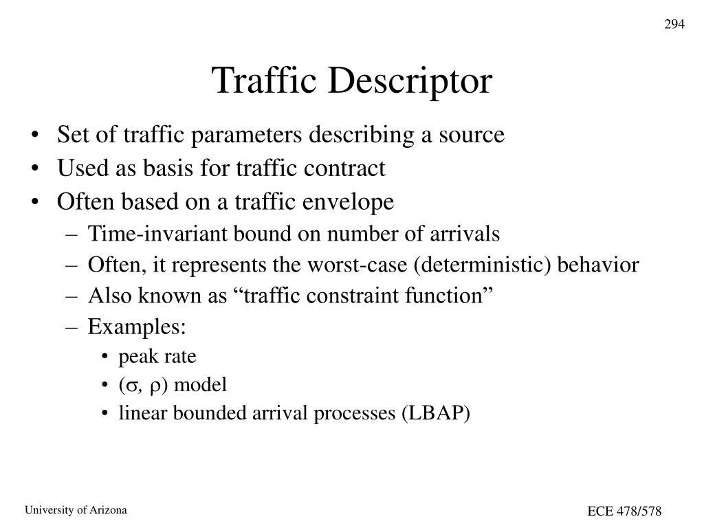 Traffic Descriptor