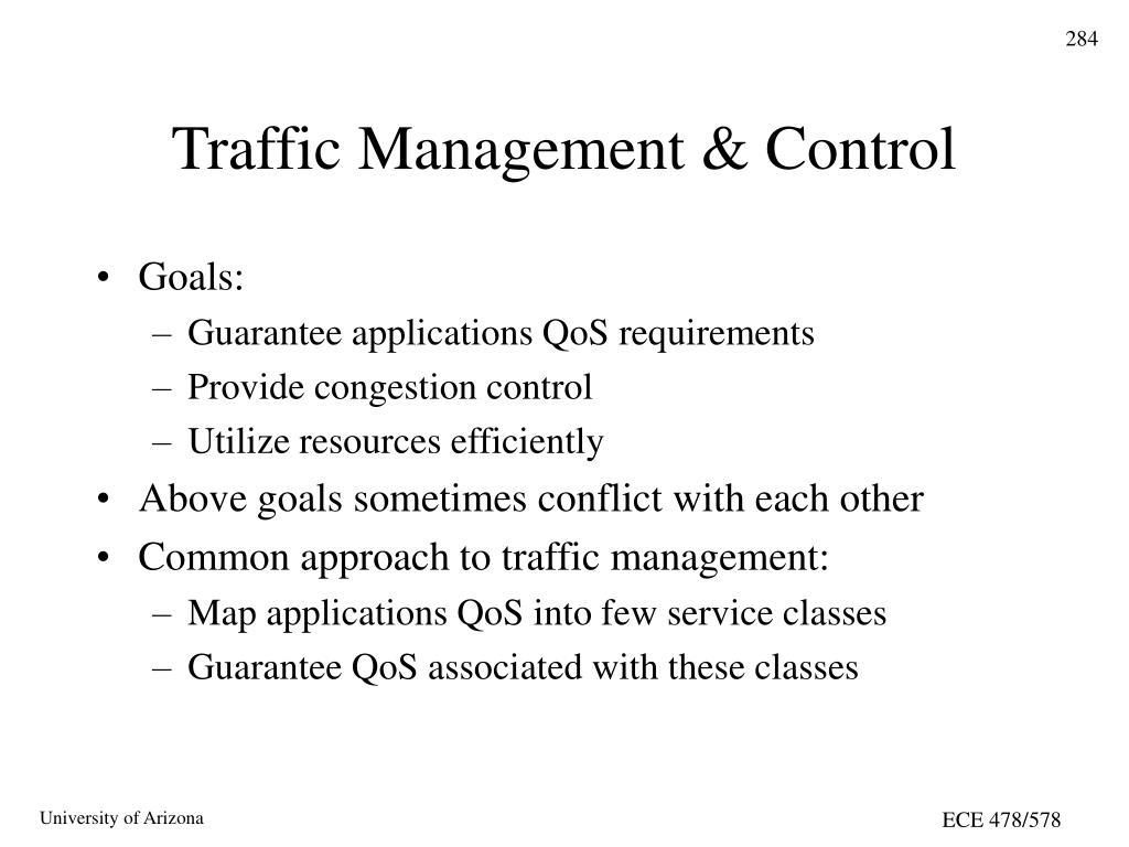 Traffic Management & Control