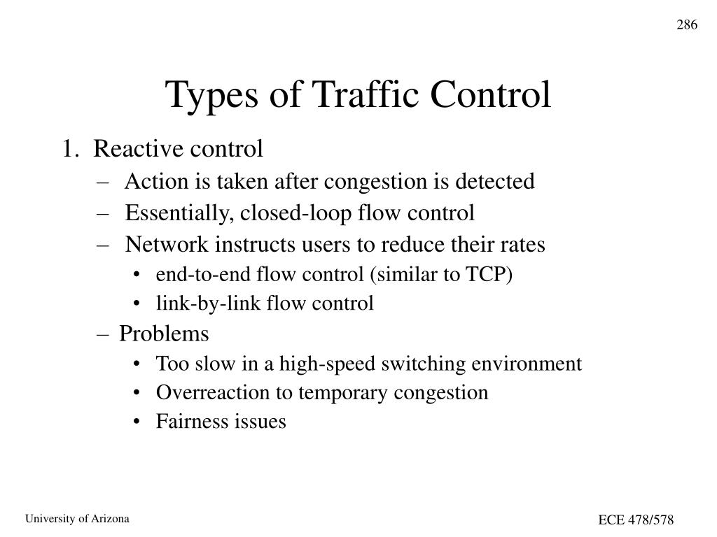 Types of Traffic Control