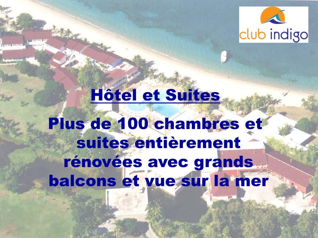 Hôtel et Suites