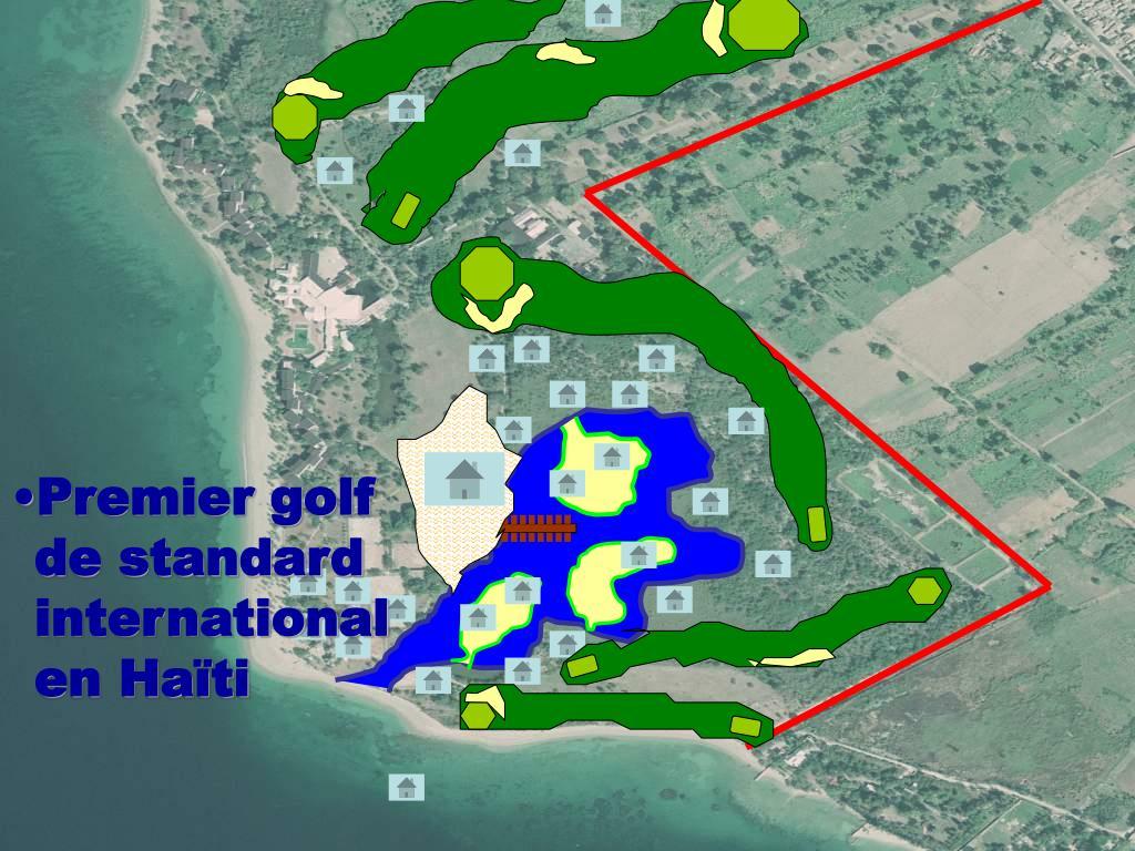 Premier golf de standard international en Haïti