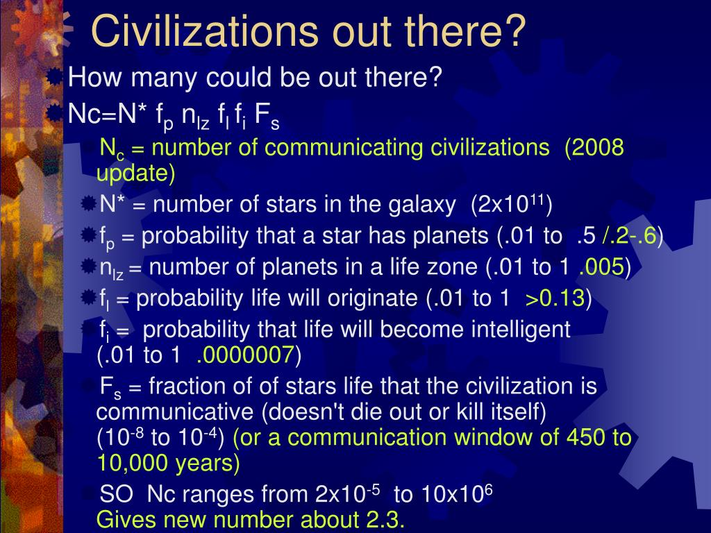 Civilizations out there?