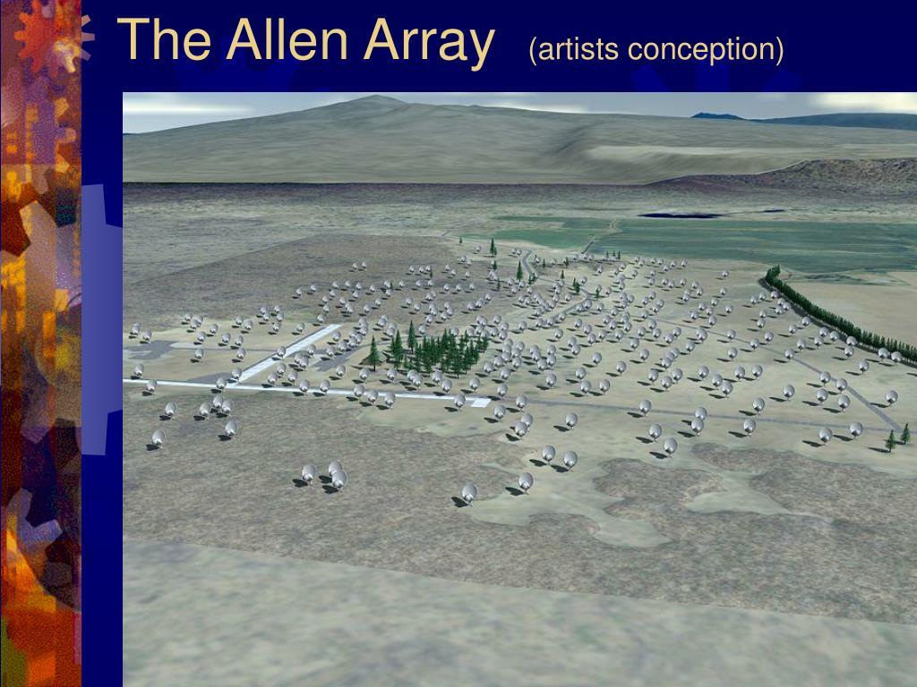 The Allen Array