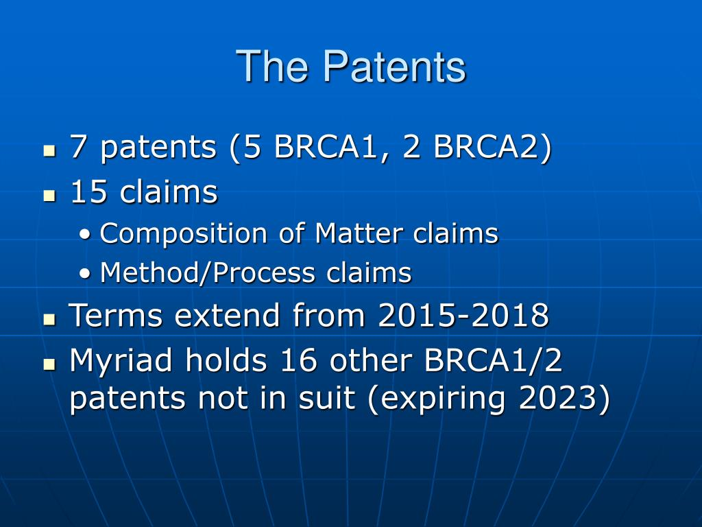 The Patents
