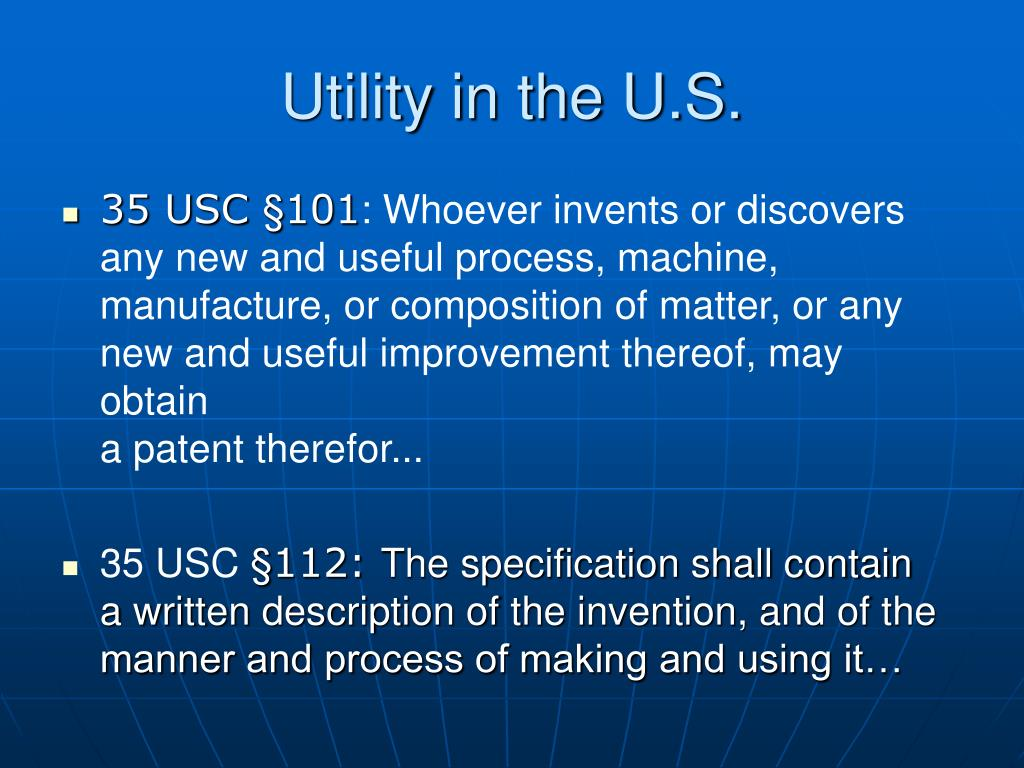 Utility in the U.S.
