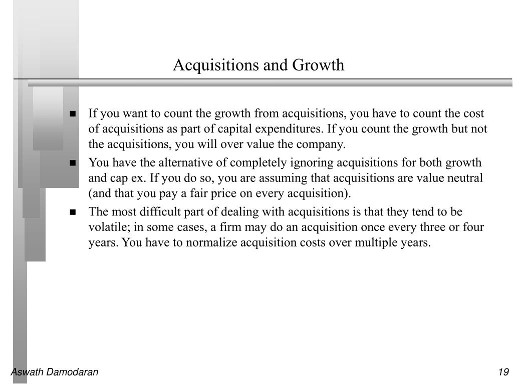 Acquisitions and Growth