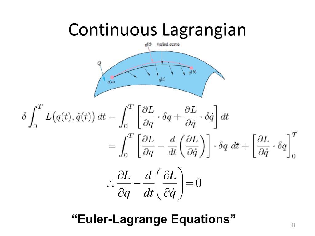 Continuous Lagrangian