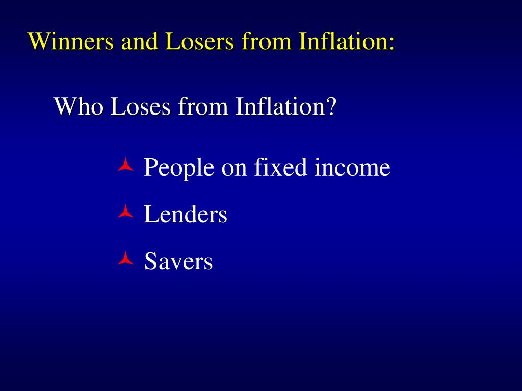 Winners and Losers from Inflation: