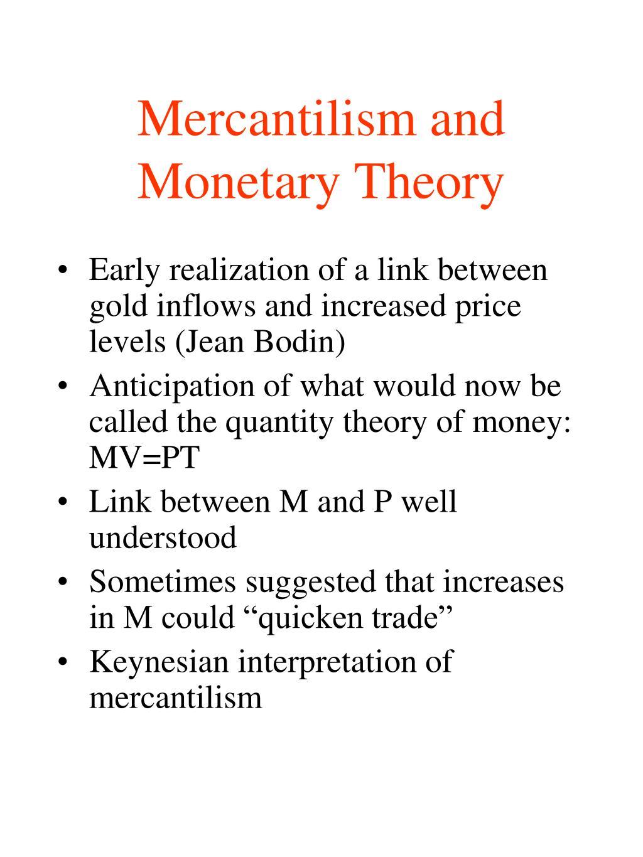 merchantile theory