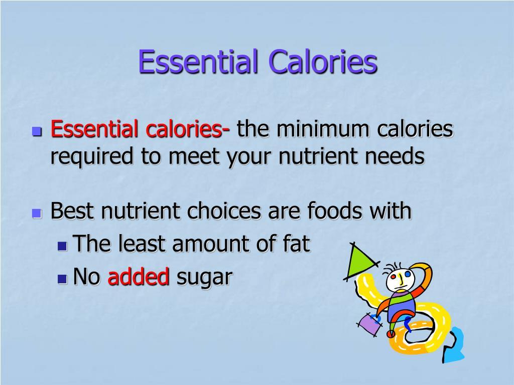 Essential Calories