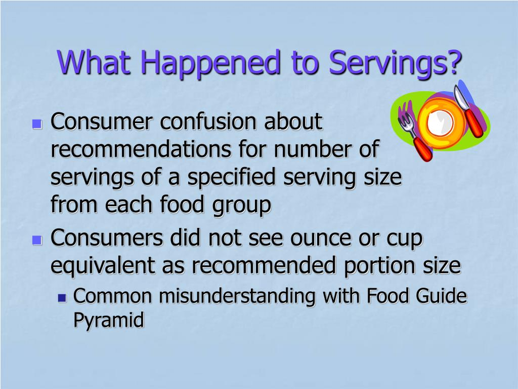 What Happened to Servings?