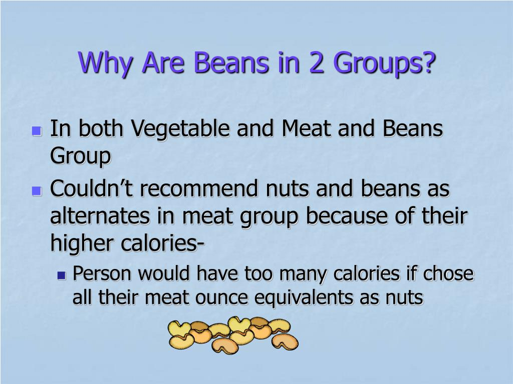 Why Are Beans in 2 Groups?