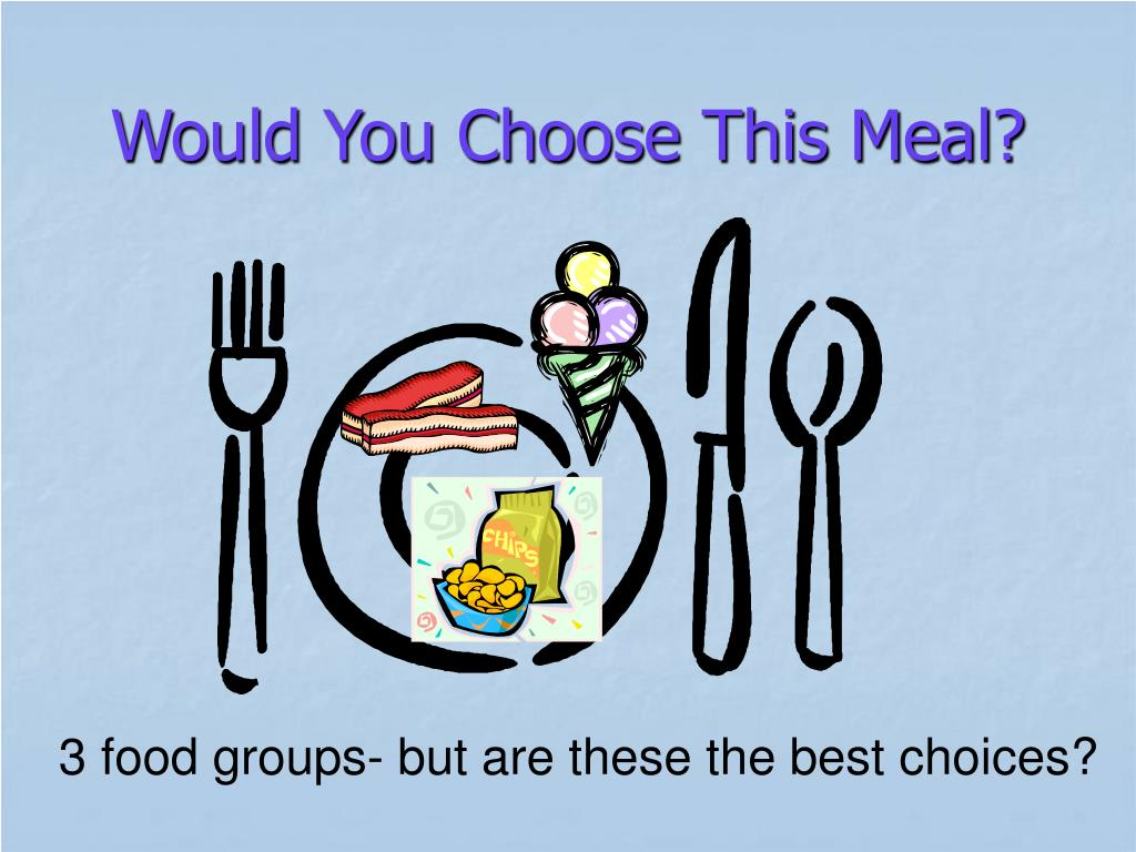 Would You Choose This Meal?