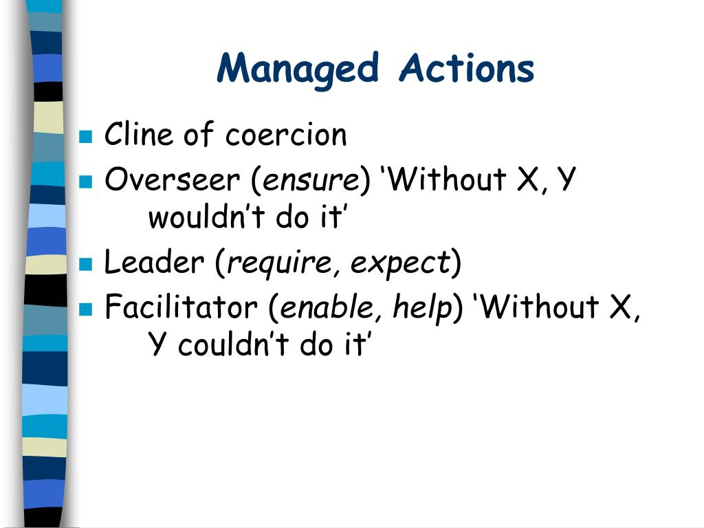 Managed Actions