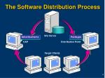 the software distribution process
