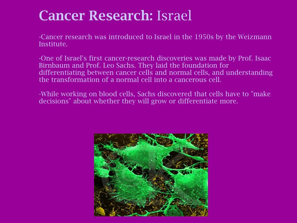 Cancer Research: