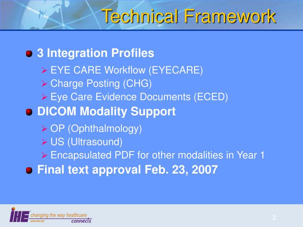 Technical Framework
