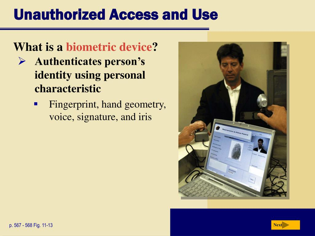 Unauthorized Access and Use