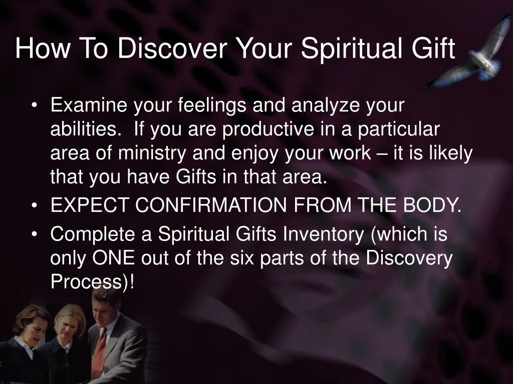 How To Discover Your Spiritual Gift