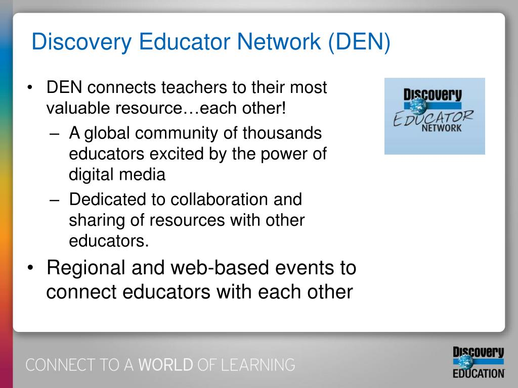 Discovery Educator Network (DEN)