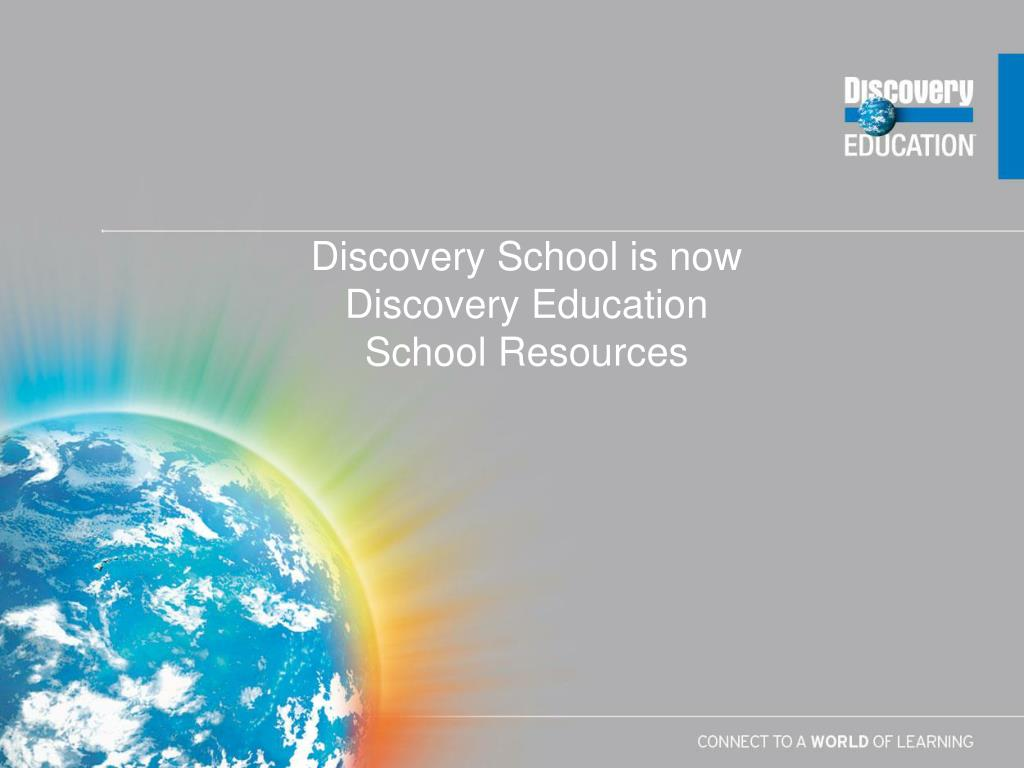 Discovery School is now