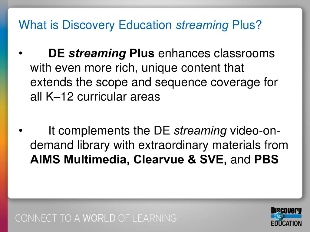 What is Discovery Education