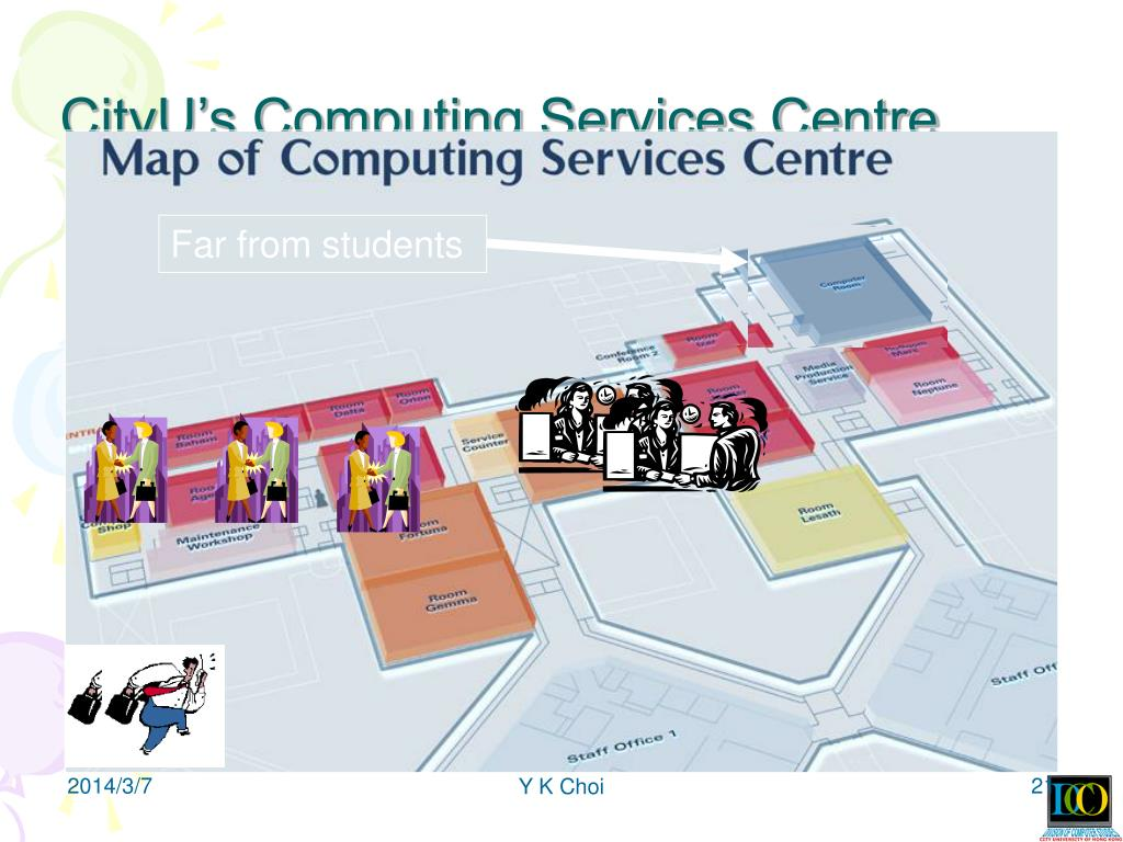 CityU's Computing Services Centre