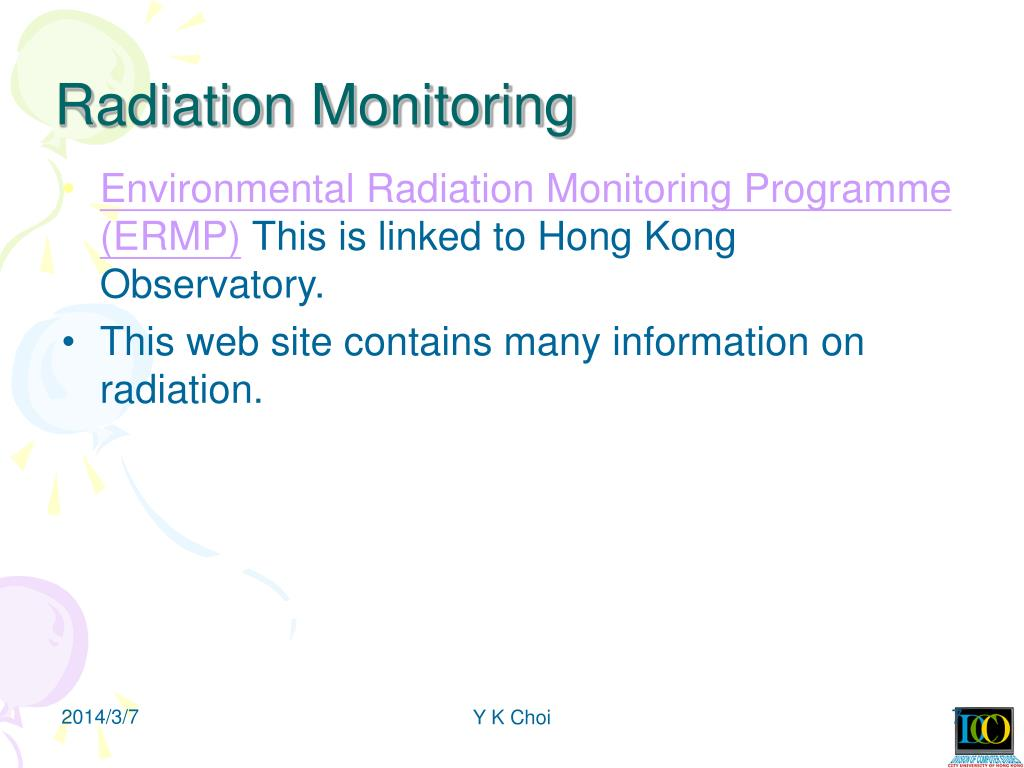 Radiation Monitoring