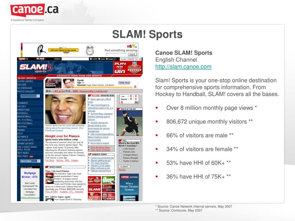 SLAM! Sports
