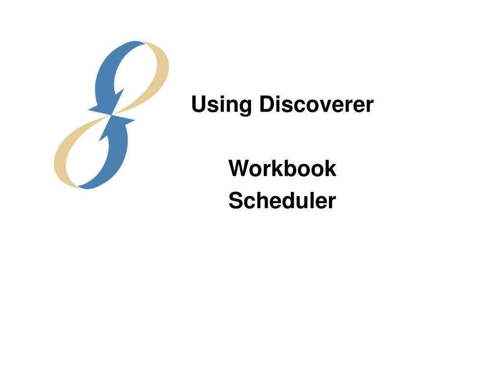 Using Discoverer
