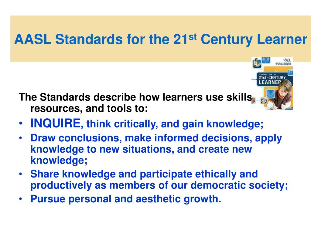 AASL Standards for the 21
