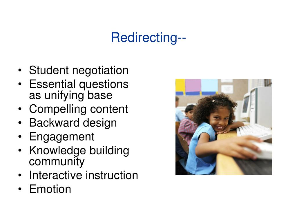 Redirecting--