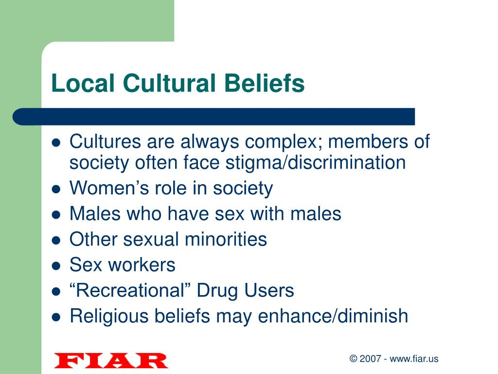 Local Cultural Beliefs