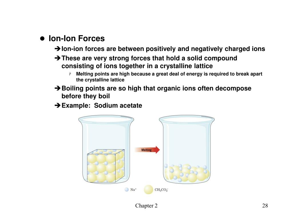 Ion-Ion Forces