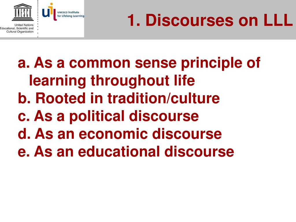 1. Discourses on LLL