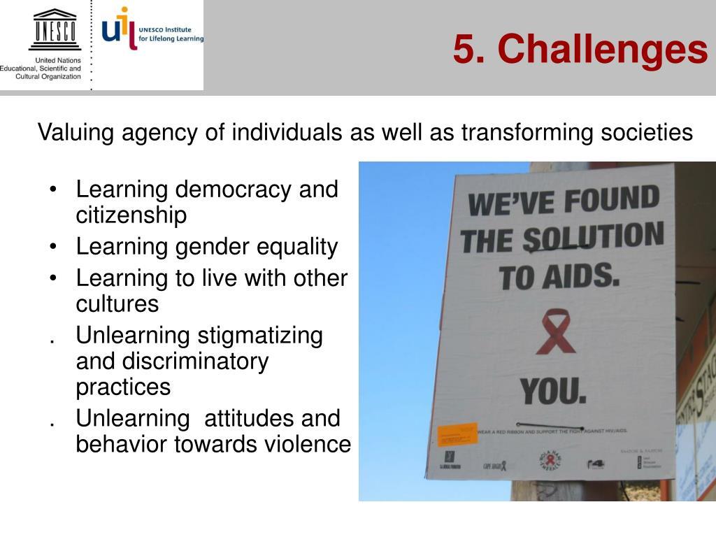 5. Challenges