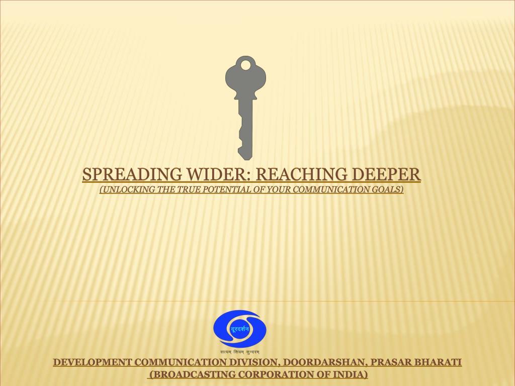 DEVELOPMENT COMMUNICATION DIVISION, DOORDARSHAN, PRASAR BHARATI