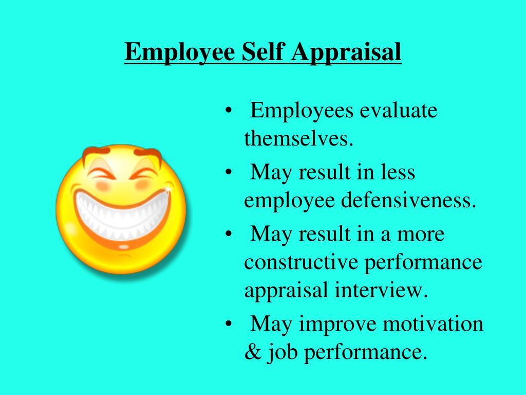 Employee Self Appraisal