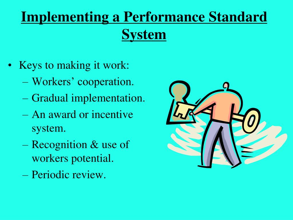 Implementing a Performance Standard System