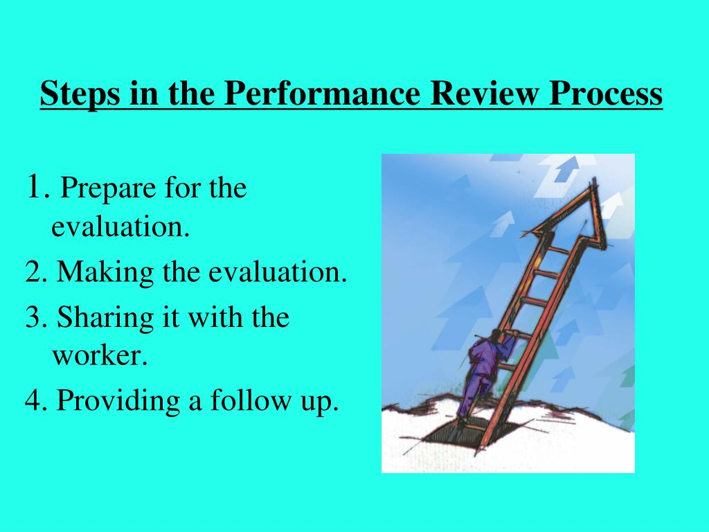 Steps in the Performance Review Process