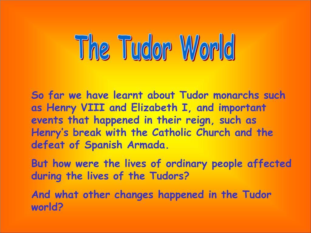 The Tudor World