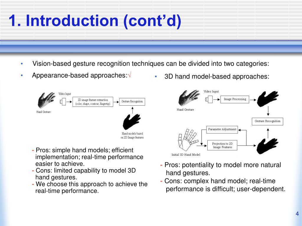 1. Introduction (cont'd)