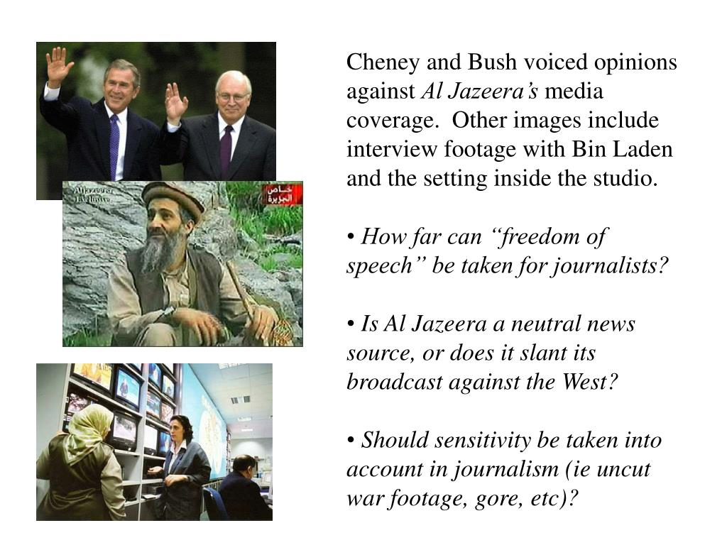 Cheney and Bush voiced opinions against