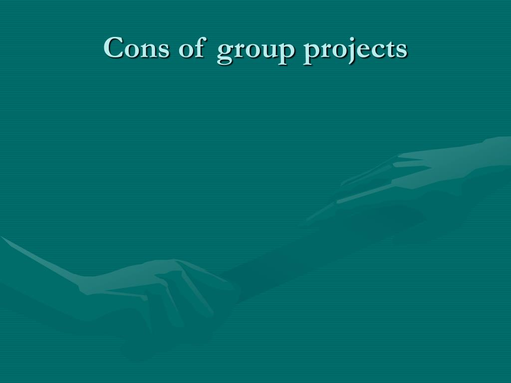 Cons of group projects