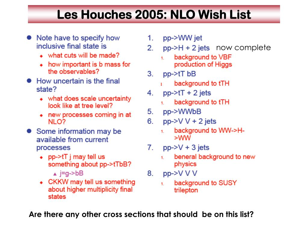 Les Houches 2005: NLO Wish List