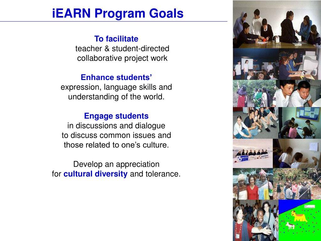 iEARN Program Goals