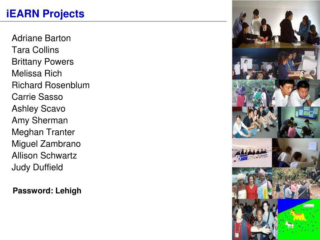 iEARN Projects